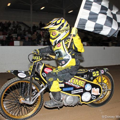 150cc D2 winner Sammy Waddill