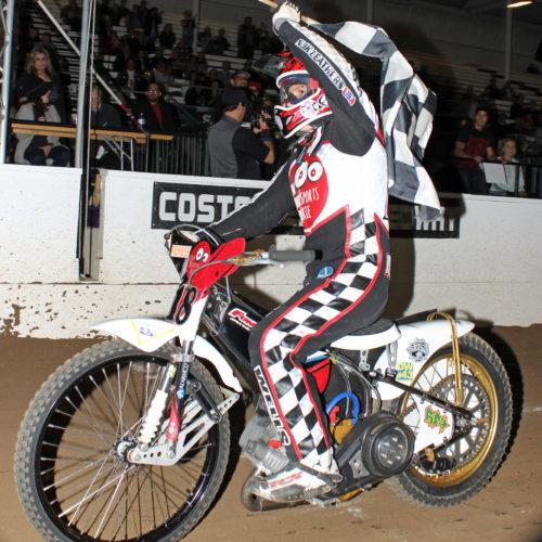 250cc winner Sebastian Palmese