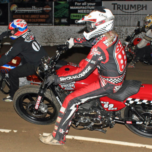 Harley Main Event action
