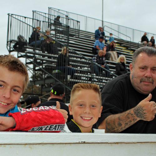 Waddill, Sammy and his dad and Glenn Geist